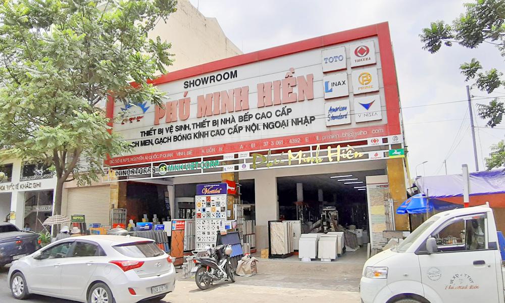 VLXD Phú Minh Hiền Biên Hòa - Đối Tác Mingstores